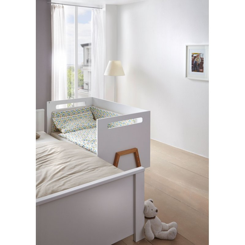 kinderbett babybett holly nature dekor wei. Black Bedroom Furniture Sets. Home Design Ideas