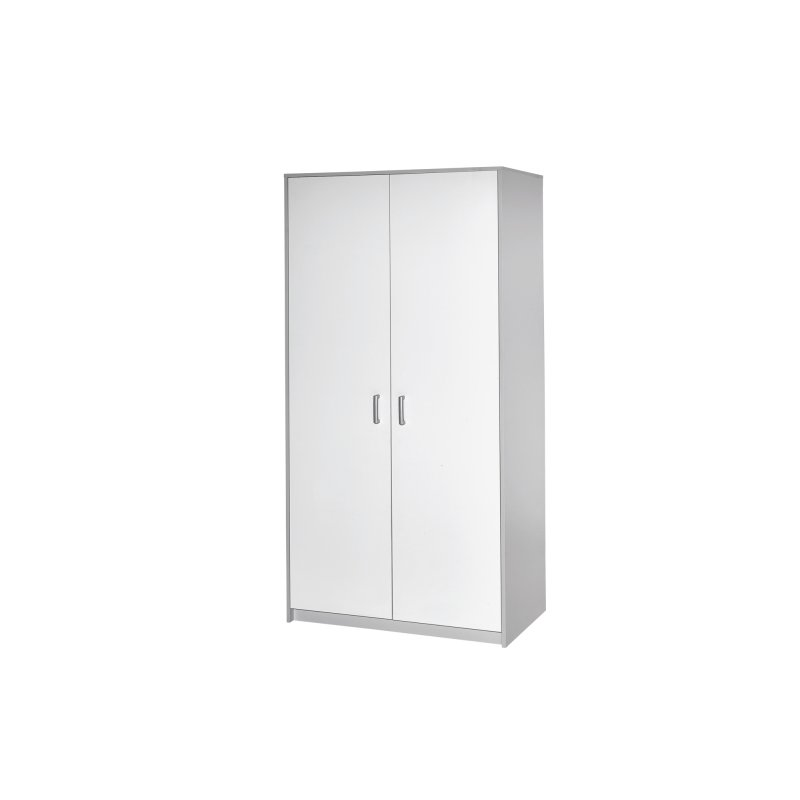 schrank 2 t rig classic grey dekor grau dekor wei 210 00. Black Bedroom Furniture Sets. Home Design Ideas