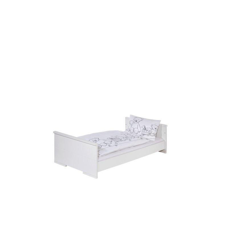 kombi kinderbett maxx white dekor wei mdf wei lackiert 289 00. Black Bedroom Furniture Sets. Home Design Ideas
