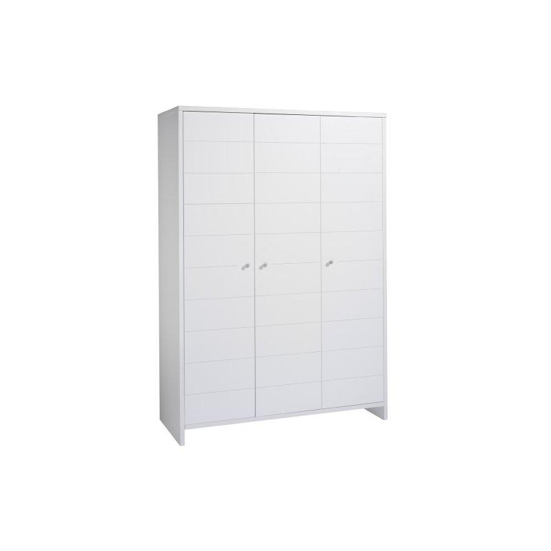 schrank 3 t rig eco stripe dekor wei mdf mit streifenfr sung 389 00. Black Bedroom Furniture Sets. Home Design Ideas