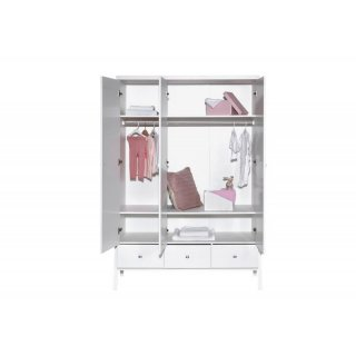 schrank 3 t rig holly white dekor wei 610 00. Black Bedroom Furniture Sets. Home Design Ideas