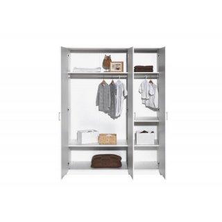 schrank 3 t rig classic white dekor wei 289 00. Black Bedroom Furniture Sets. Home Design Ideas