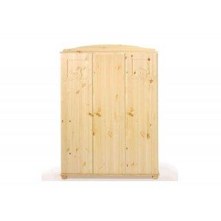 schrank 3 t rig dream massivholz kiefer ge lt 599 00. Black Bedroom Furniture Sets. Home Design Ideas